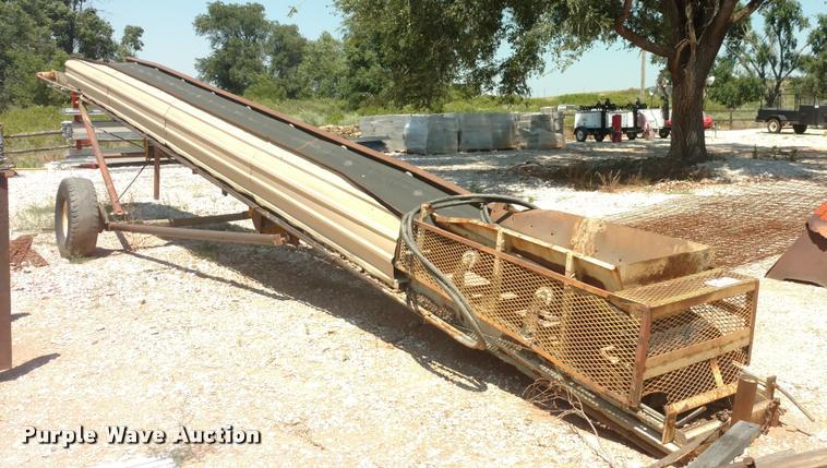 Three roller conveyor