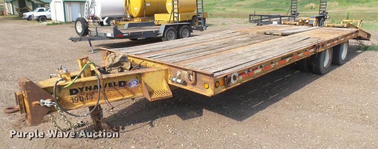 2000 Dynaweld equipment trailer