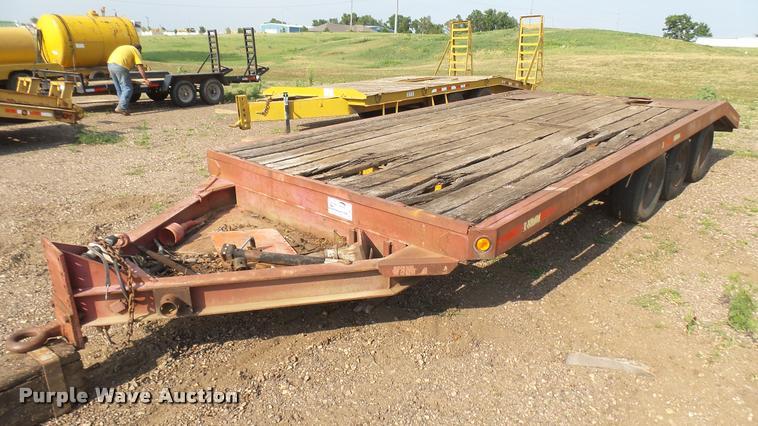 Fruehauf equipment trailer