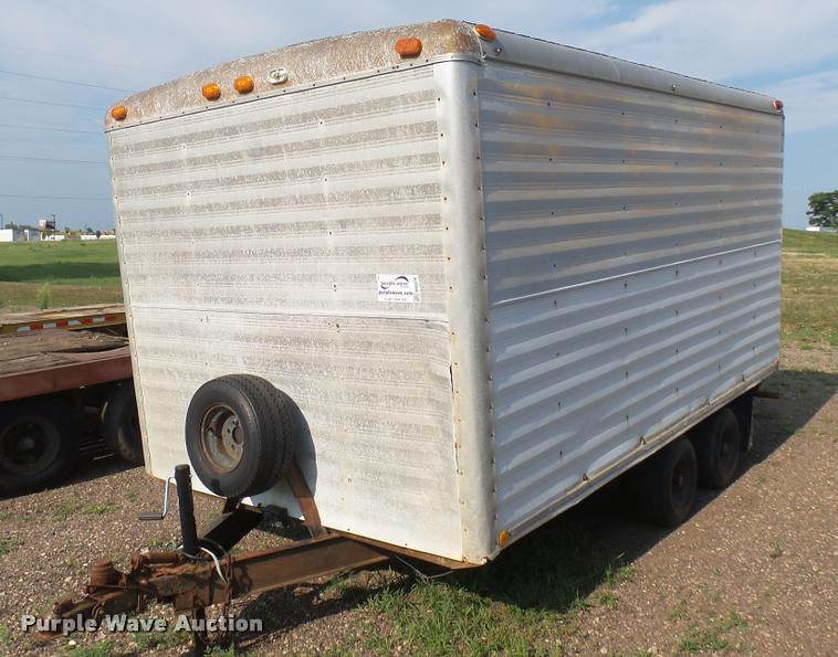 1974 Well enclosed cargo trailer