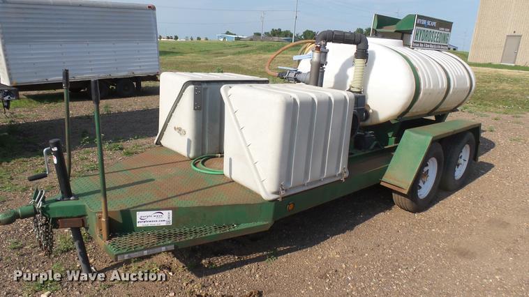 Hydrascape hydroseeder trailer