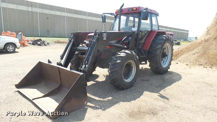 1996 International 5230A MFWD tractor