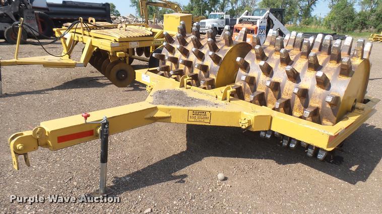General Steel double drum padfoot roller