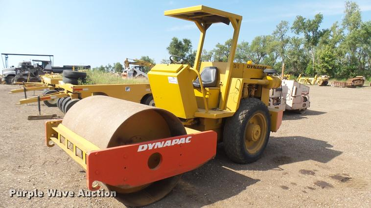 Dynapac CA15 single drum vibratory roller