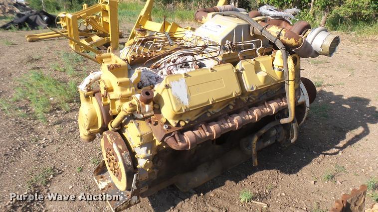 Caterpillar 3412 12 cylinder diesel engine
