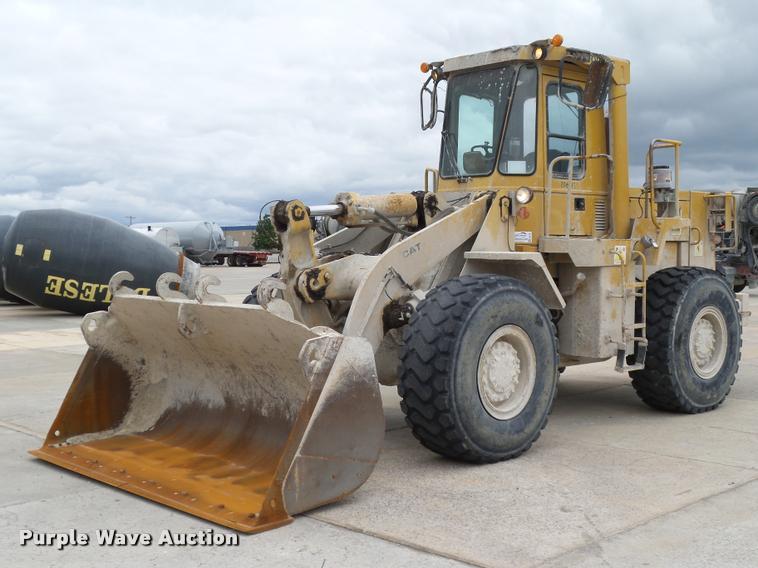 1987 Caterpillar 950B wheel loader