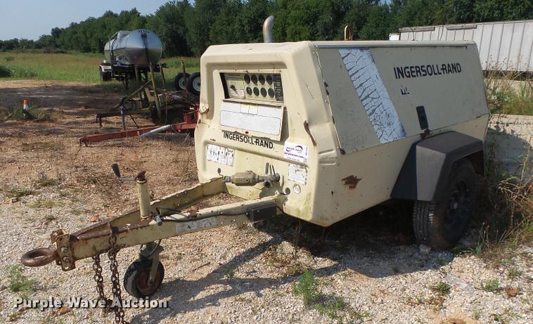 Ingersoll Rand PL85WJD air compressor