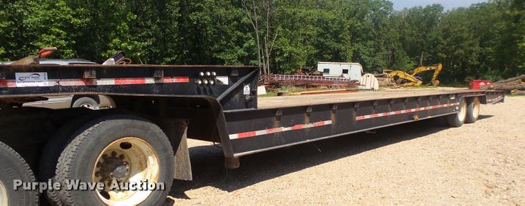 1997 Trail King TK70HT-482 hydratail equipment trailer