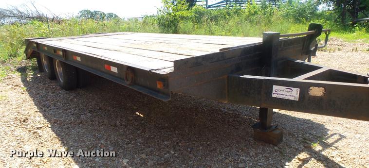 1984 Belshe T-8K equipment trailer