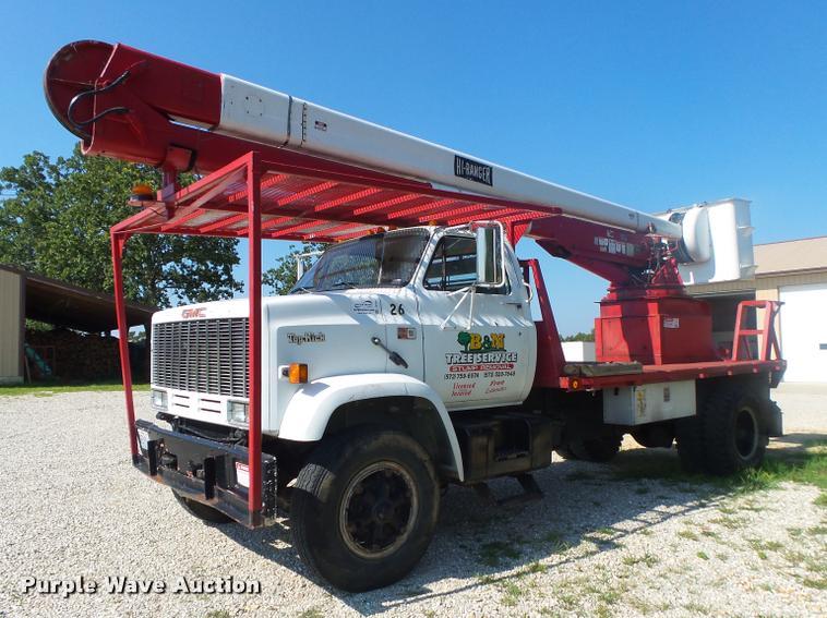 1989 GMC TopKick 7000 bucket truck