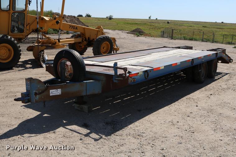 1982 equipment trailer
