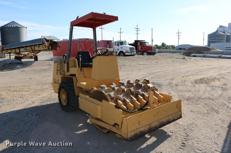1982 Dynapac CA12PD single drum vibratory roller