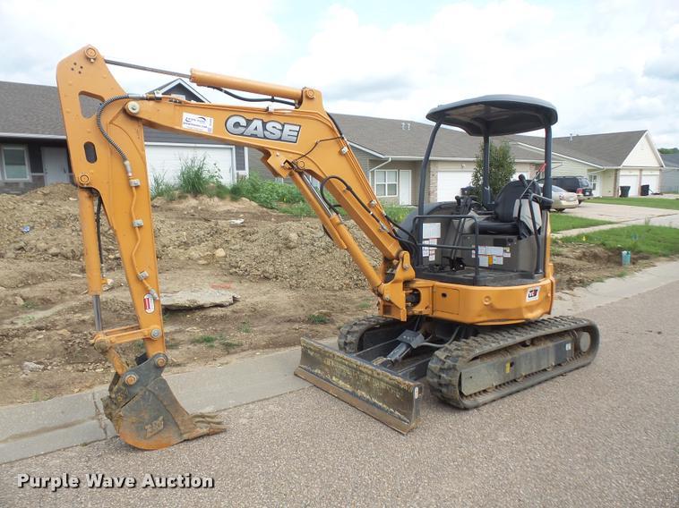 2016 Case CX31B compact excavator