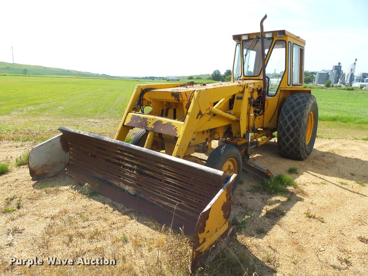 Sims Athey P76337 loader tractor