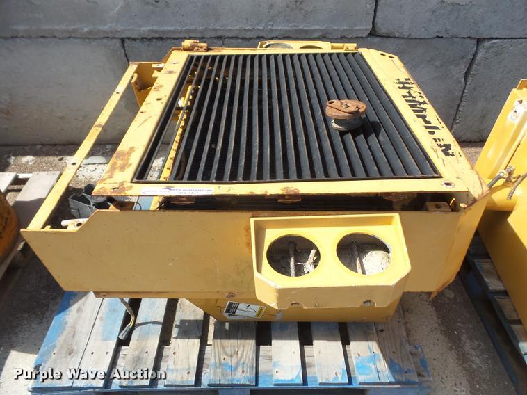 Champion 720A Series III motor grader radiator
