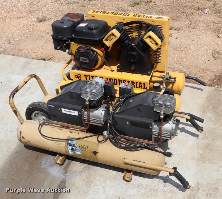 (2) air compressors