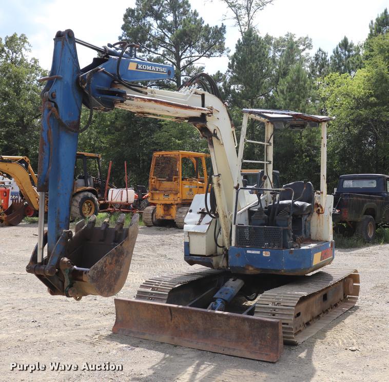 Komatsu PC38UU-1 compact excavator