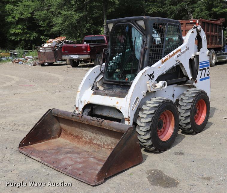 2000 Bobcat 773 skid steer