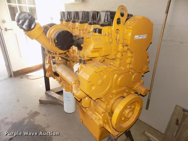 Caterpillar 3406E 2WS six cylinder turbo diesel engine