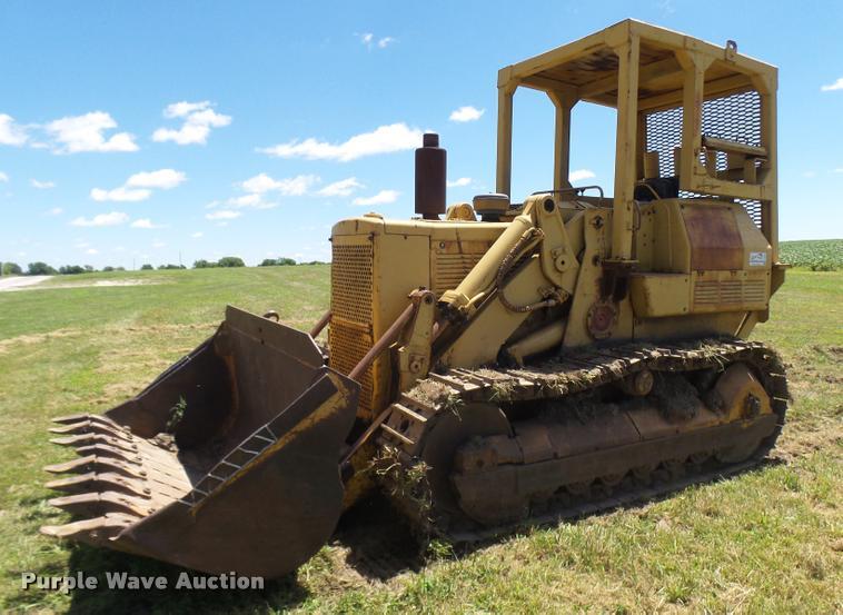 Caterpillar 955L track loader