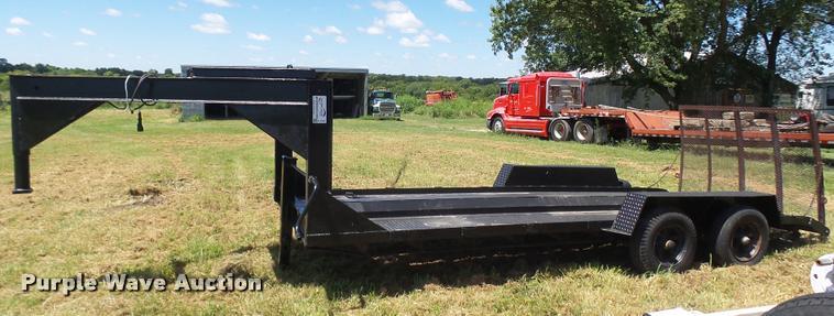 1990 shop built equipment trailer