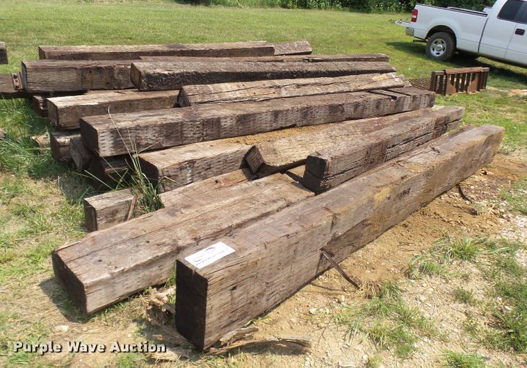 (30) bridge timbers