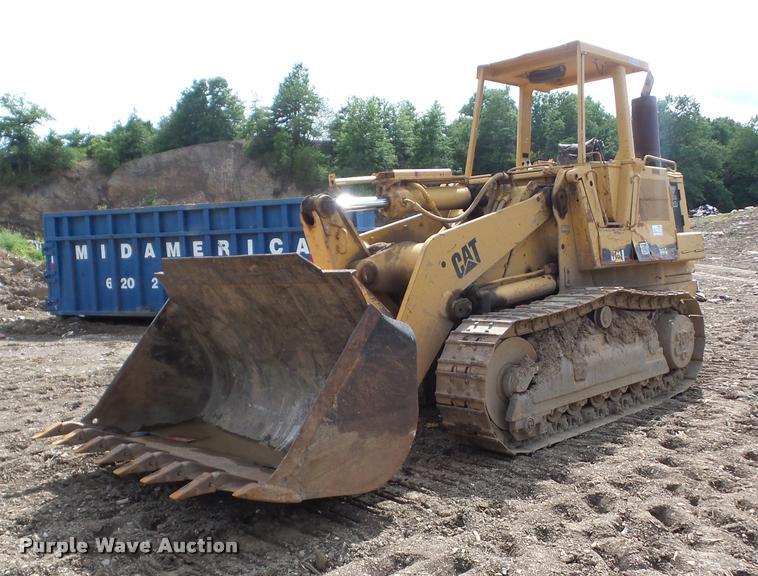 1984 Caterpillar 963 track loader
