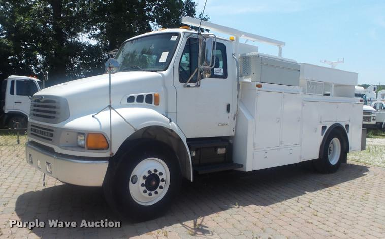 2002 Sterling Acterra M8500 service truck
