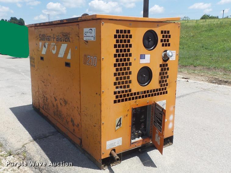 1999 Sullivan Palatek D210U11JDB air compressor