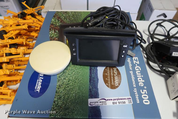 Trimble E-Z Guide 500 light bar and guidance system