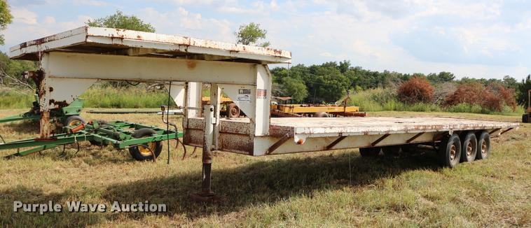 WW drop deck trailer