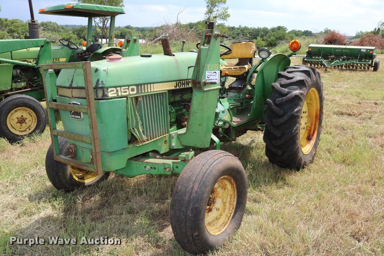 1984 John Deere 2150 tractor