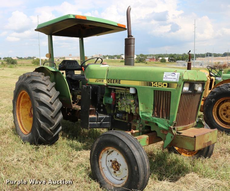 1985 John Deere 1450 tractor