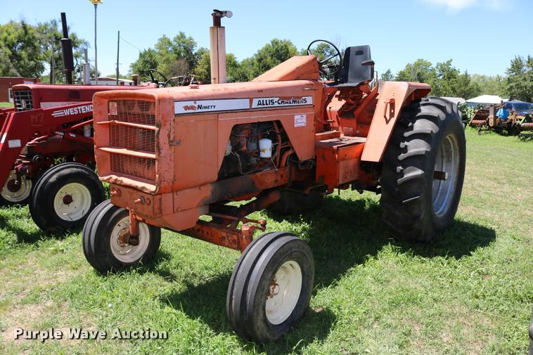 Allis Chalmers One-Ninety tractor