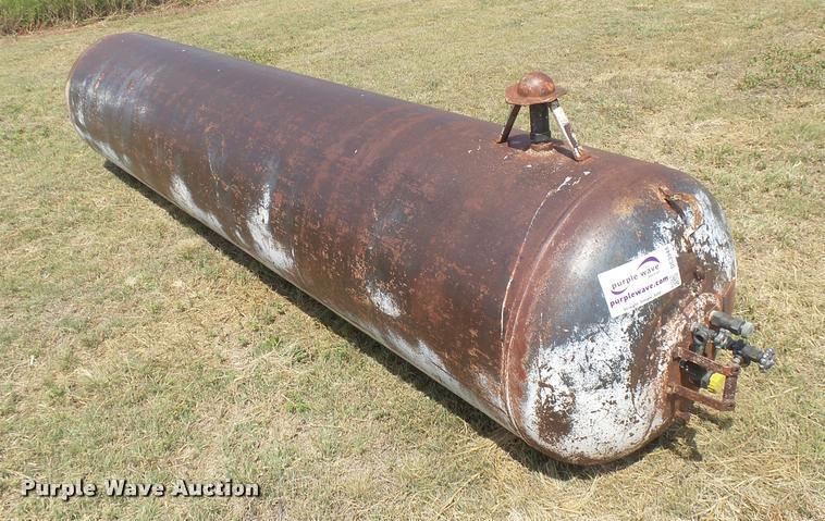 A.O. Smith propane tank