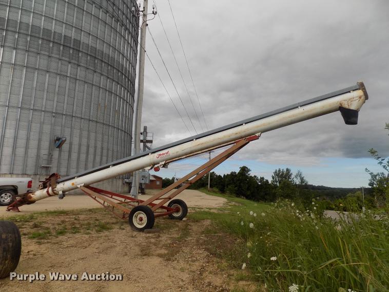 Feterl grain auger
