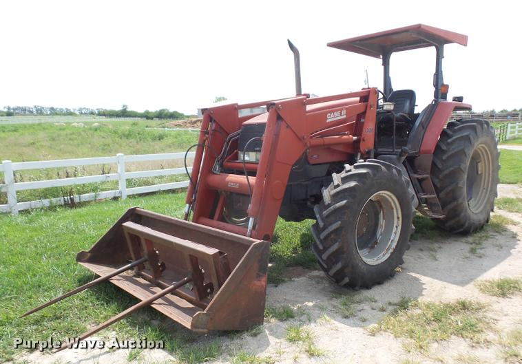 1997 Case IH MX110 MFWD tractor