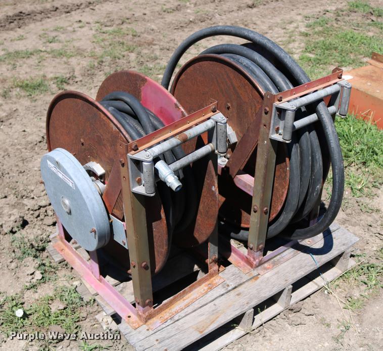 (2) fuel hose reels