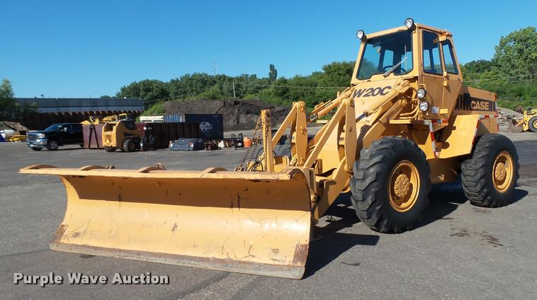 1981 Case W20 wheel loader