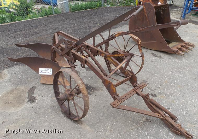 Two bottom plow