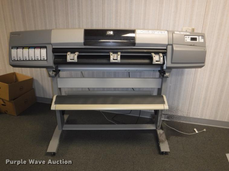 HP Design Jet 5000 plotter