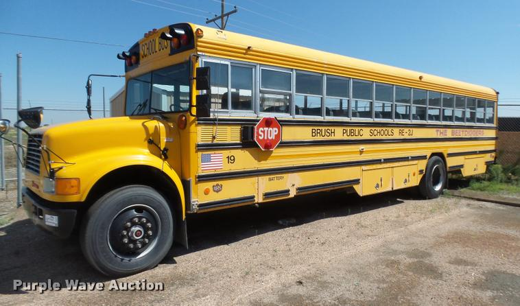 1991 International 3800 school bus