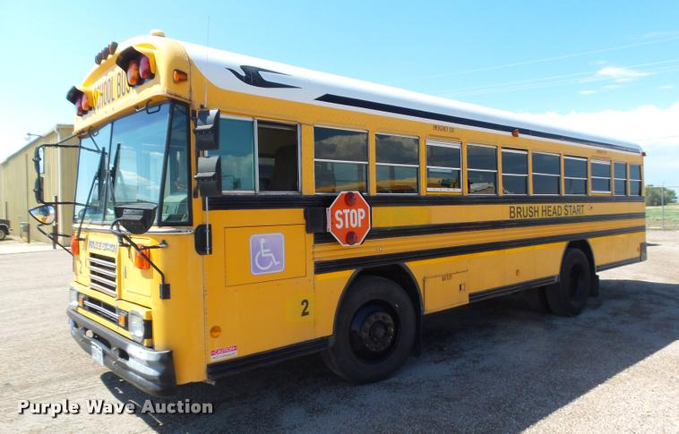 1997 Blue Bird TC2000 school bus