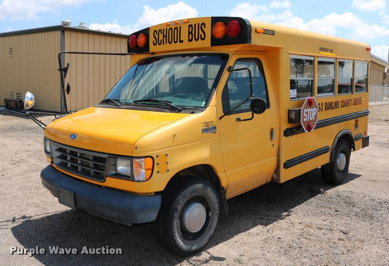 1995 Ford Econoline E350 Collins school bus