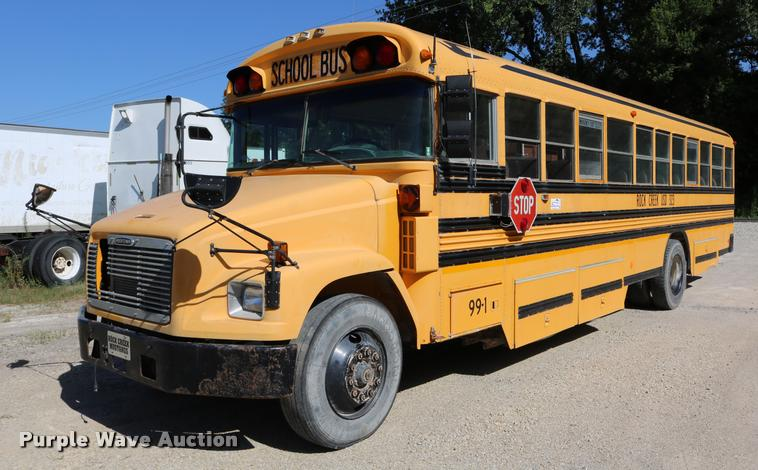 1999 Freightliner FS65 Blue Bird school bus