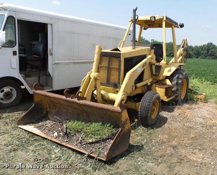 1987 Caterpillar 416 backhoe