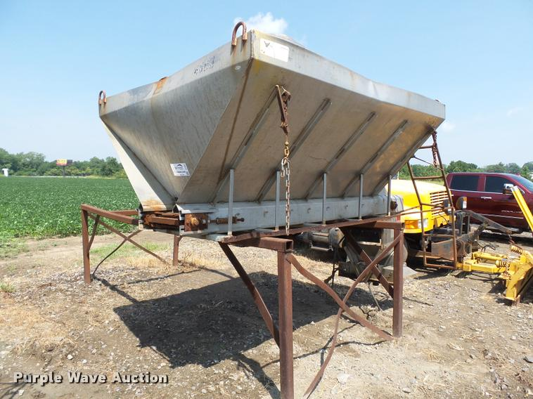 Swenson stainless steel spreader