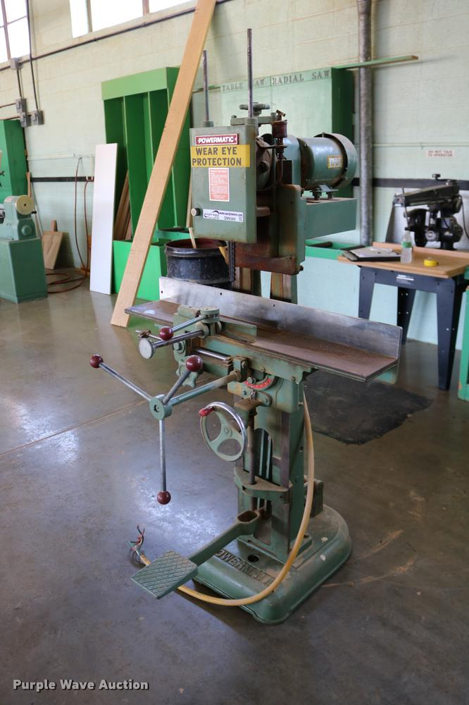 Powermatic 15 mortiser