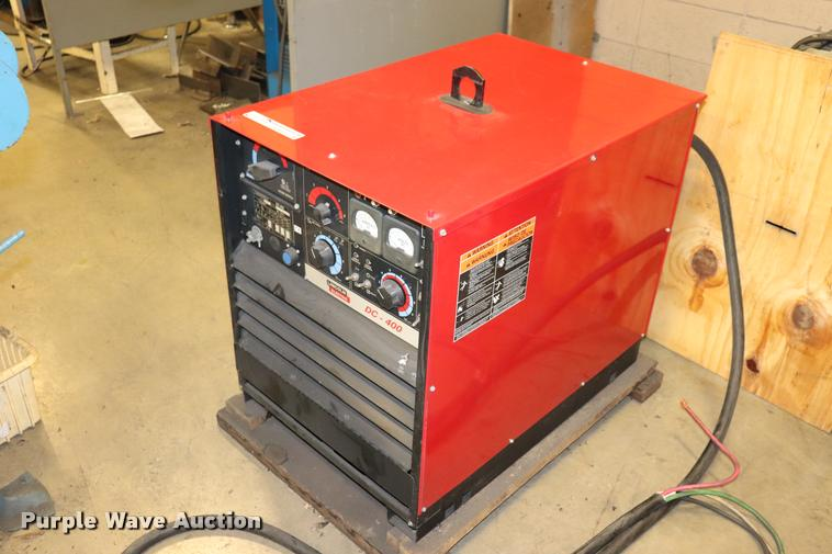 Lincoln DC-400 welder