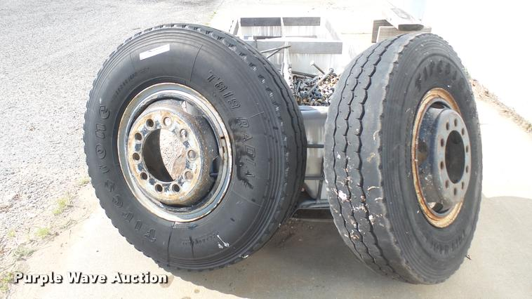 (2) Firestone tires